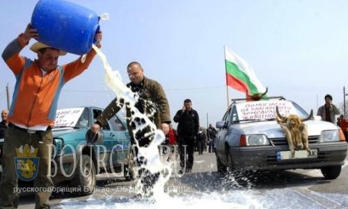 В Болгарии намечаются молочные протесты