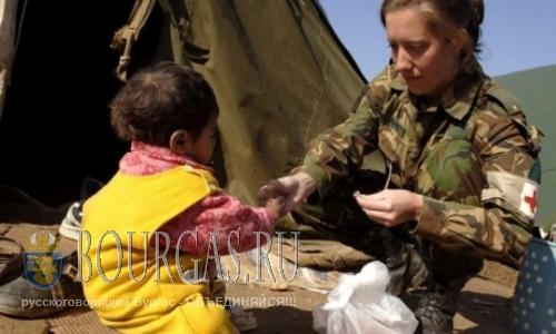 В Бургасе ищут военных медиков