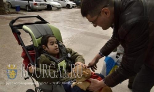 В Бургасе собака поможет в лечении ребенка