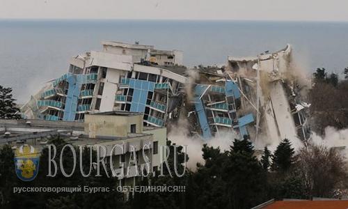 В Варне взорвали гостиницу Рубин