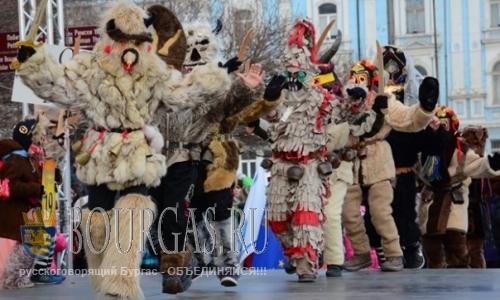 Варна встречает весну карнавалом