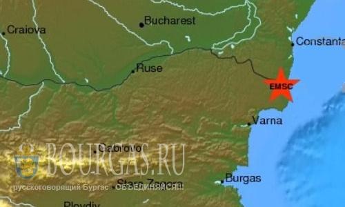Землетрясение в Добриче