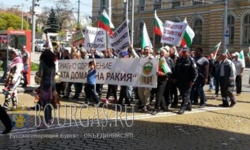 Болгарские производители ракии протестуют