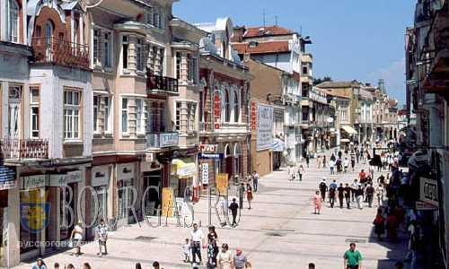 Ходить по улицам в центре Пловдива опасно