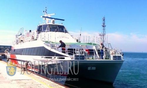 Катамаран Seacat One в Болгарии