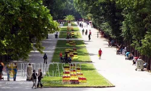 Приморский парк в Варне станет больше