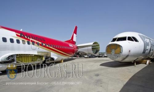 В Болгарии будут разбирать самолеты