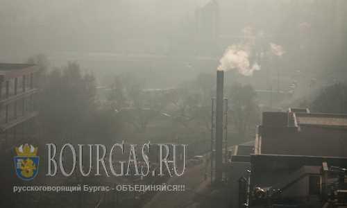 В городах Болгарии повышенная запыленность