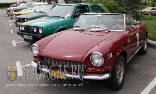 Выставка ретро автомобилей в Балчике
