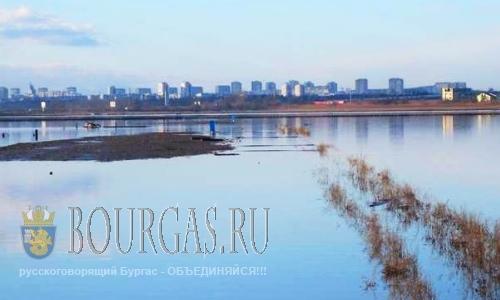 Атанасовское озеро в Бургасе