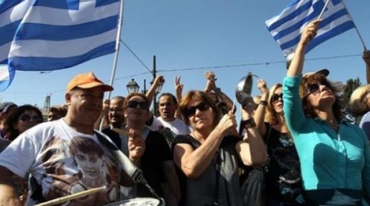 Болгарские туристы застряли в Греции на острове Санторини