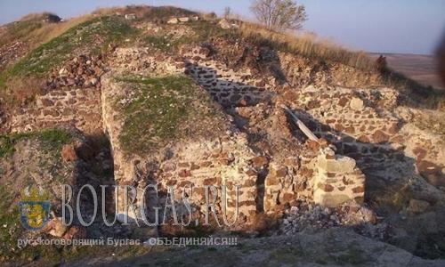 крепость Русокастро в Бургасской области