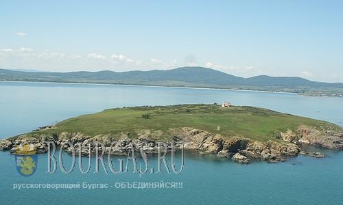 На острове Св. Ивана восстановят монастырь