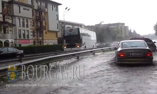 Наводнение в Варне