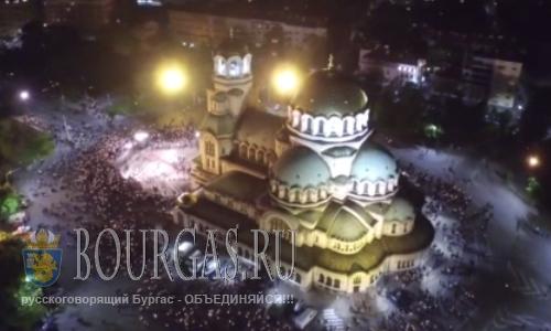 Пасха в храме Св Александра Невского в Софии