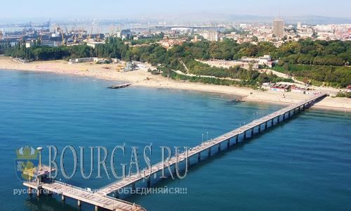Пляжный мост в Бургасе, побратимами Бургаса