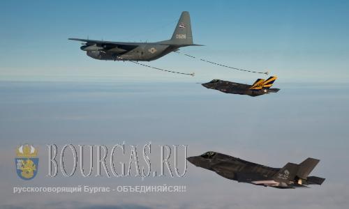 Самолеты НАТО будут дозаправляться в небе Болгарии