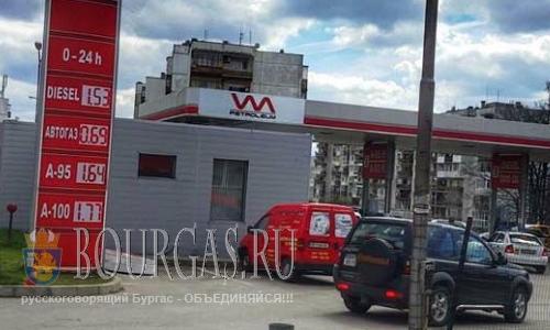Стоимость топлива в Болгарии продолжает расти