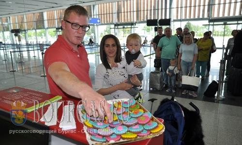 В аэропорту Сарафово провели урок болгарского языка