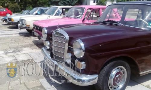 В Болгарии завершилось ралли ретро авто - Долина роз