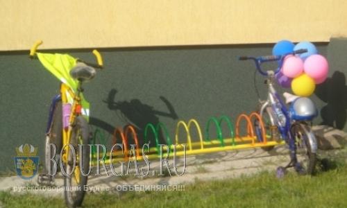 В детских садах Бургаса появляются велопарковки