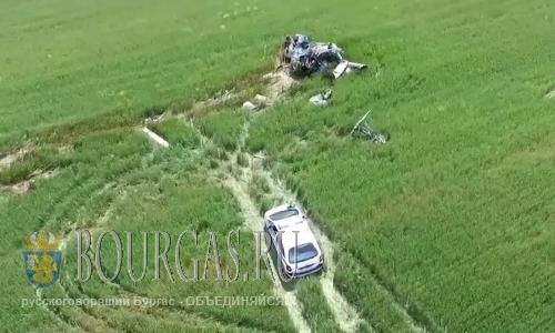 В районе Несебра произошла авиакатастрофа