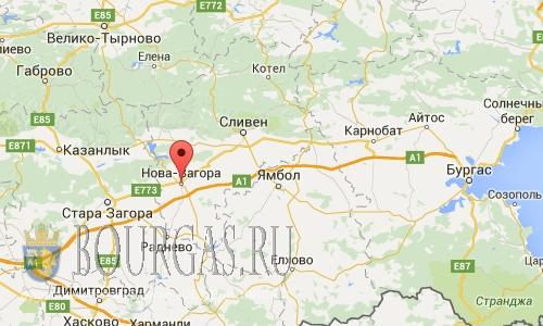 Землетрясение в Нова Загора