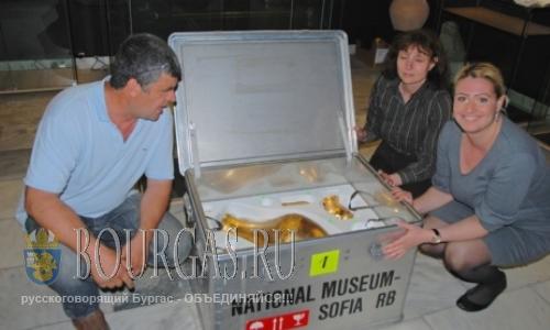 Золотые Сокровища хана Кубрата прибыли в Бургас