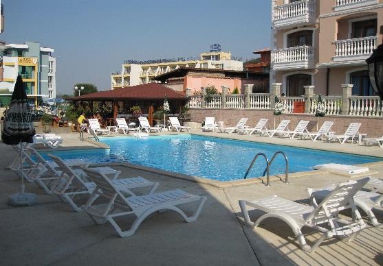 Болгария отель Black Sea бассейн