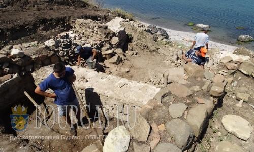 Археологи продолжат работу в крепости Порос в Бургасе