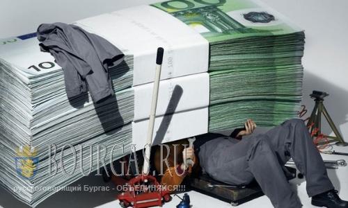 Бюджет Болгарии - излишки растут