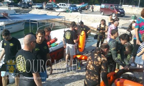 этап Кубка и Чемпионата Болгарии по подводной охоте - Димитр Минев