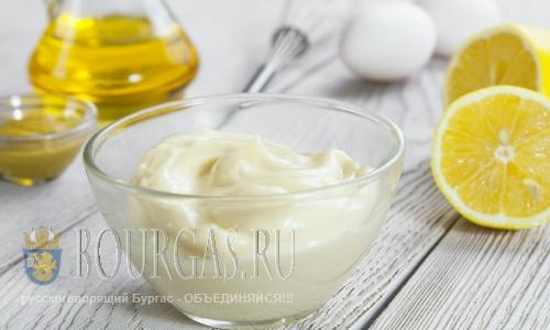 Как оказалось в болгарский майонез не всегда кладут яйца