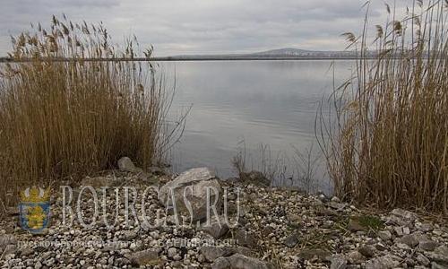 озеро Мандра в Бургасе