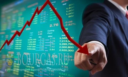 Падение объемов производства в Болгарии