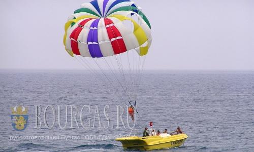 Пляжные аттракционы в Болгарии в этом году всем по карману