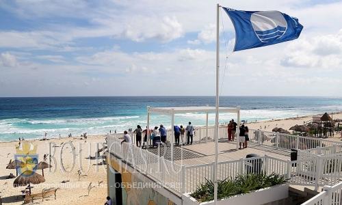 Синий флаг для пляжей Болгарии
