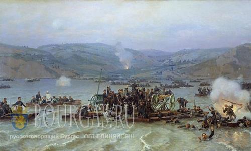 Систовское сражение, форсирование Дуная
