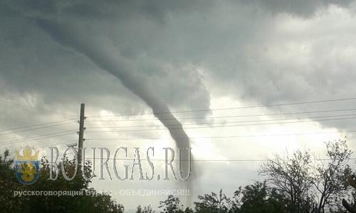 Торнадо в Болгарии