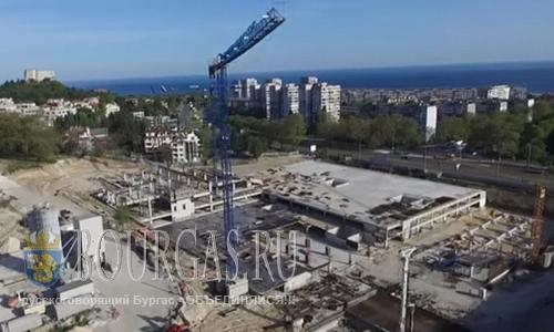 В Варне строят новый стадион