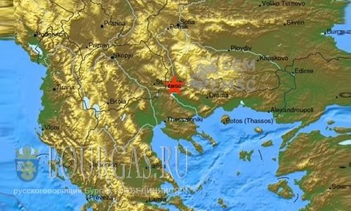 Землетрясение в Петриче