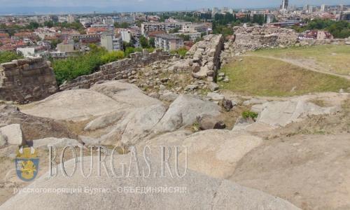 21 июля 2016 года, Болгария, Пловдив, древнефракийский город Эвмолпия