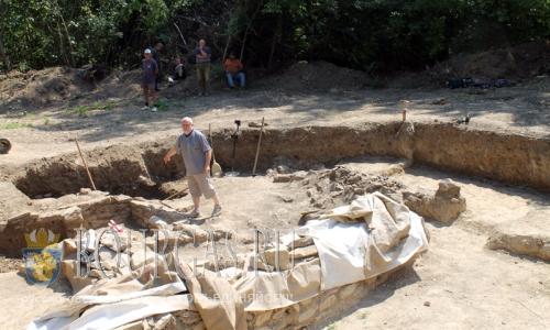 21 июля 2016 года, Болгария, раскопки на крепости Мисионис