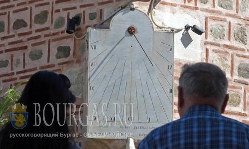 21 июля 2016 года, Болгария, солнечные часы в мечети Джумая джамия в Пловдиве