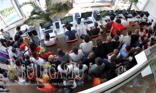 26 июля 2016 года, Болгария, Бургас, Экспо-Центр, соревнования геймеров