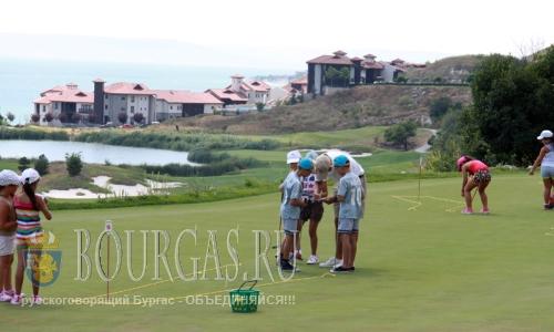 27 июля 2016 года, Болгария, Каварна - летняя гольф-академия для детей
