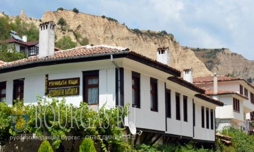 28 июля 2016 года, Болгария, Мелник, Южная Болгария, самый маленький город в стране ждет своих туристов