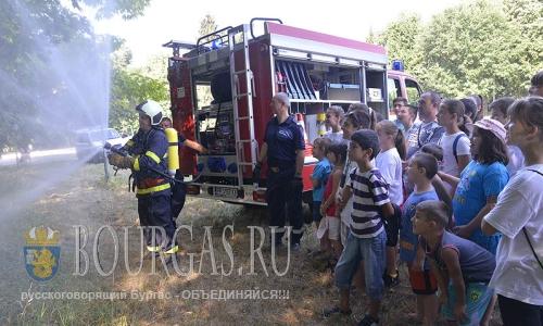 29 июля 2016 года, Болгария, Разград, Детская полицейская академия при Областной дирекцией МВД