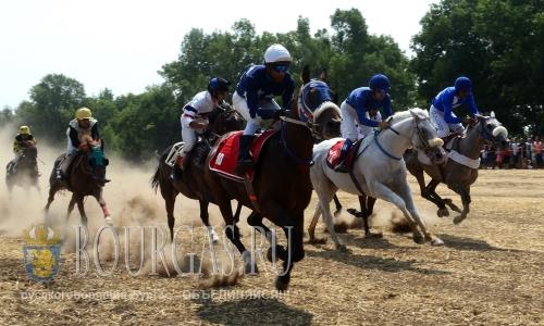 31 июля 2016 года, Болгария, Завет, Разградска область - этап чемпионата Болгарии по конному спорту