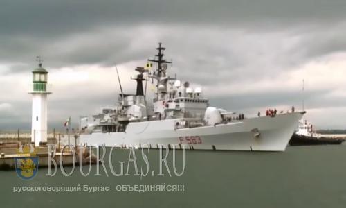 корабли НАТО в Бургасе